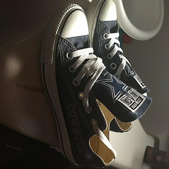 Converse Shoes - Custom Dallas Cowboys Converse d66c43063